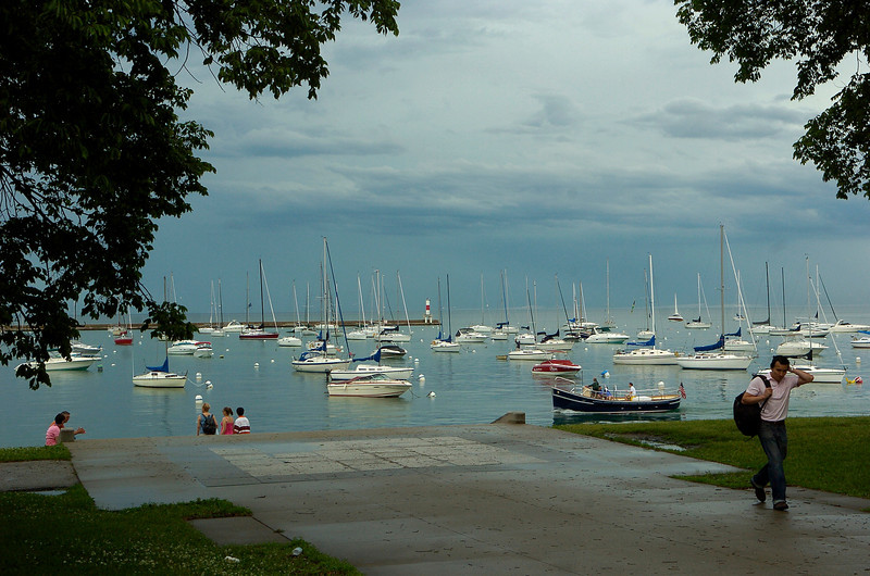 Chicago Blues Festival<br /> June 8, 2008<br /> <br /> Chicago Lakefront from Jackson and Lakeshore Drive