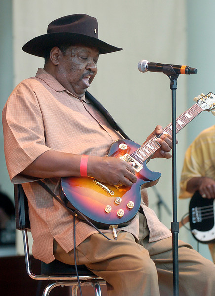Chicago Blues Festival<br /> June 8, 2008<br /> <br /> Magic Slim and the Teardrops
