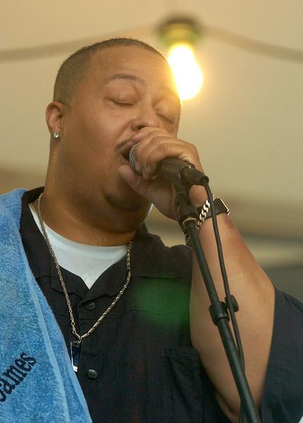 Chicago Blues Festival<br /> June 8, 2008<br /> <br /> Big James Montgomery