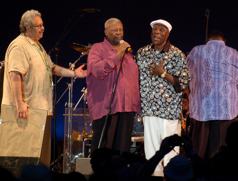 Chicago Blues Festival<br /> June 8, 2008<br /> <br /> BB King with Buddy Guy