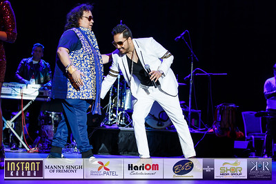 Mika and Bappi Lahiri Live in San Jose 2016