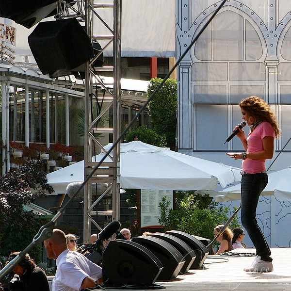 Anna David (DK) - Concert Plænen Tivoli