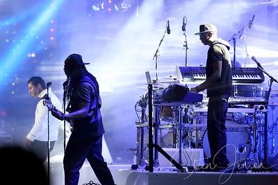 Burham G & Shaka Loveless (DK) Concert Plænen Tivoli
