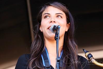 Melissa Aldana; (Chile);