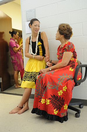 Backstage at Uluwehi's Fall '10 concert