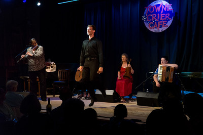 Step dancing added to a magical evening at Beacon's Towne Crier Cafe.
