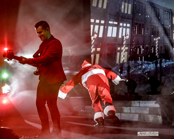 Marc Martel as Santa - KLove Christmas Tour VA 12-15-17 by Annette Holloway Photog