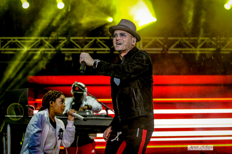 TobyMac in concert at KingsFest in Doswell VA at Kings Dominion 6-21-18 by Annette Holloway Photog