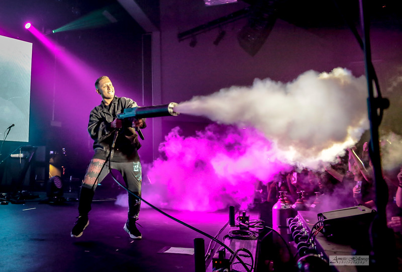Gawvi - Unashamed Forever Tour in Richmond VA 4-7-19 (© Annette Holloway Photography)