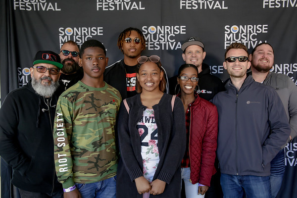Lecrae & Unspoken Meet & Green Sat at SonRise Fest 4-21-18