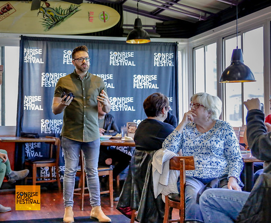 Danny Gokey Q&A - SonRise Music Festival VIP Luncheon Friday 2-20-18 with Danny Gokey and Building 429