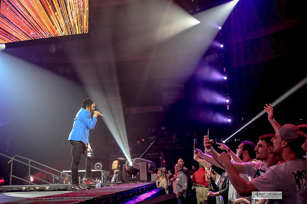 Michael Tait - Newsboys  at Winter Jam Norfolk, VA 2-24-19 by Annette Holloway Photography