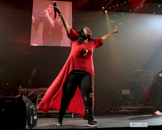 Mandisa at Winter Jam in Norfolk VA 2-24-19 by Annette Holloway Photography