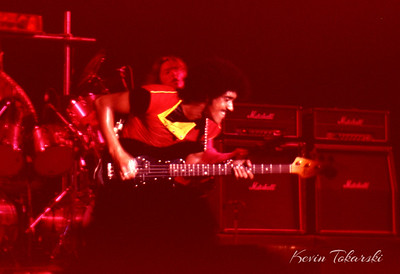 Phil Lynott with Thin Lizzy, Grand Rapids, Michigan, 1979 or 1980.