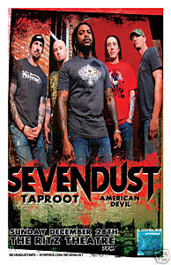Sevendust / Taproot December 28, 2008 Coming Soon!