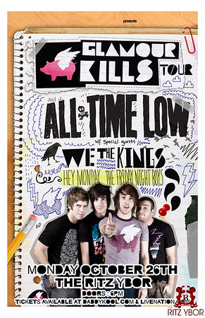All Time Low October 26, 2009