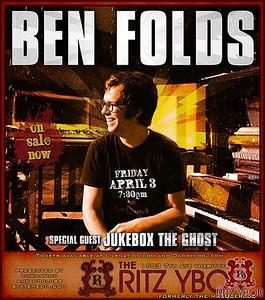 Ben Folds April 3, 2009