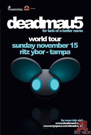 Deadmau5 November 15, 2009