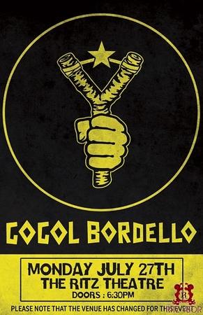 Gogol Bordello July 27, 2009