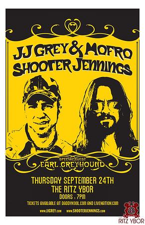 JJ Grey & Mofro / Shooter Jennings September 24, 2009