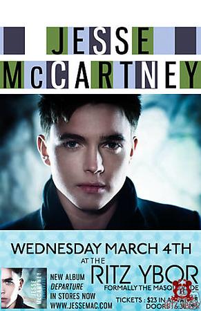 Jesse McCartney March 4, 2009