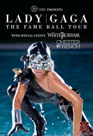 """Lady GaGa """"The Fame Ball Tour"""" April 7, 2009"""