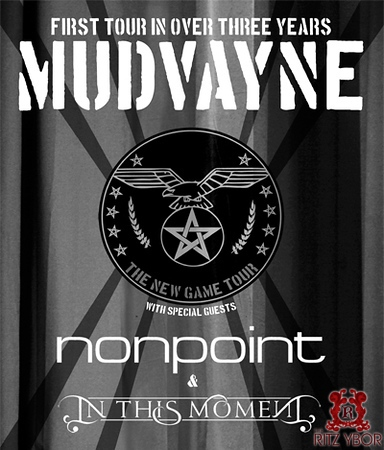 """Mudvayne """"The New Game Tour"""" March 15, 2009"""