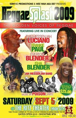 Reggae Splash September 5, 2009