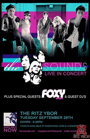 The Sounds September 29, 2009