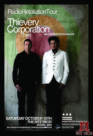 Thievery Corporation October 10, 2009