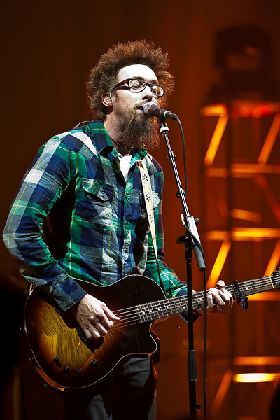 20 July 2009: David Crowder Band in concert at the 2009 National Worship Leader Conference at Church of the Resurrection in Leawood, KS.
