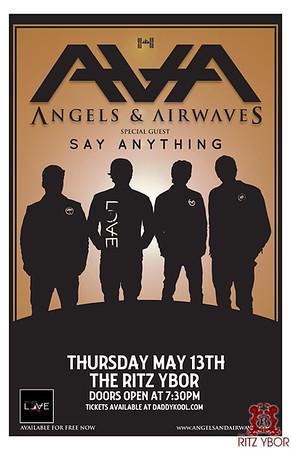 Angels & Airwaves / Say Anything May 13, 2010
