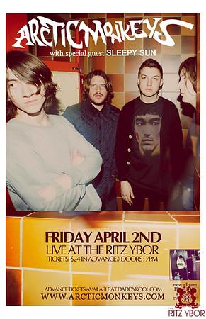 Arctic Monkeys April 2, 2010