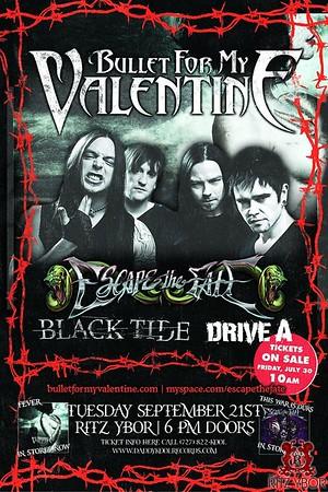 Bullet for My Valentine September 21, 2010