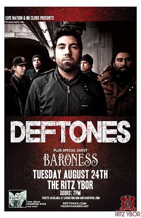 Deftones August 24, 2010