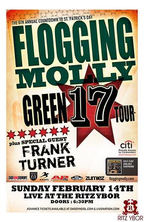 Flogging Molly / Frank Turner February 14, 2010