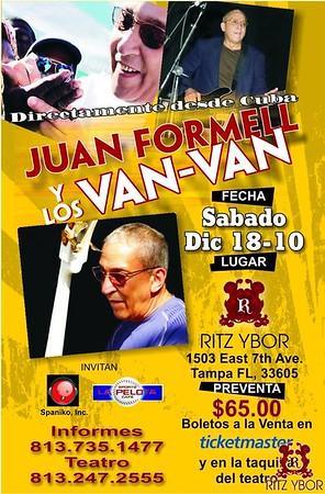 Juan Formell y Los Van Van December 18, 2010