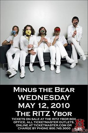 Minus The Bear May 12, 2010