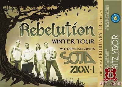 Rebelution February 18, 2010