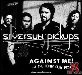 Silversun Pickups & Against Me! June 18, 2010