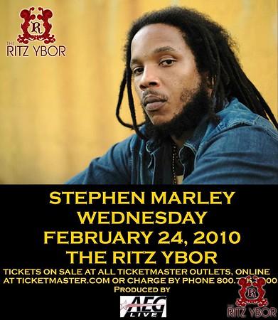 Stephen Marley February 24, 2010