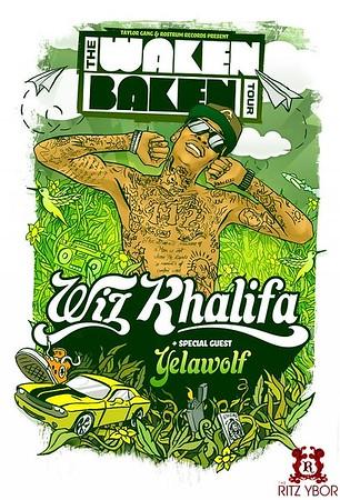 """Wiz Khalifa """"The Waken Baken Tour"""" November 5, 2010"""