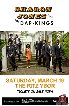 Sharon Jones & The Dap-Kings & Peter Baldwin March 19, 2011