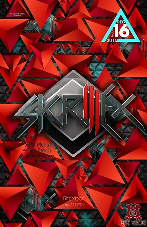"Skrillex ""The Mothership Tour"" December 16, 2011"