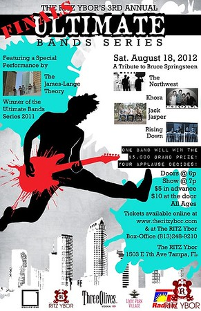 3rd Annual Ultimate Band Series Finals August 18, 2012