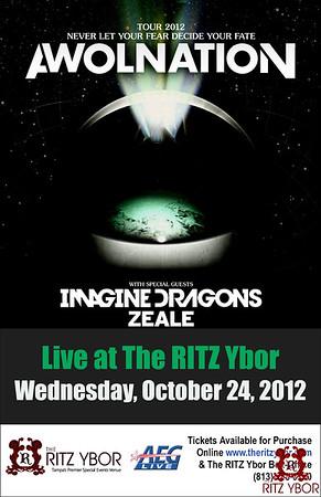 AWOLNATION October 24, 2012