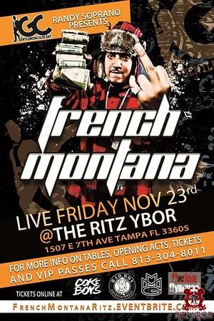 French Montana November 23, 2012