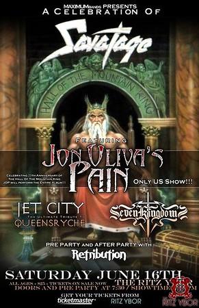 Jon Oliva's Pain June 16, 2012