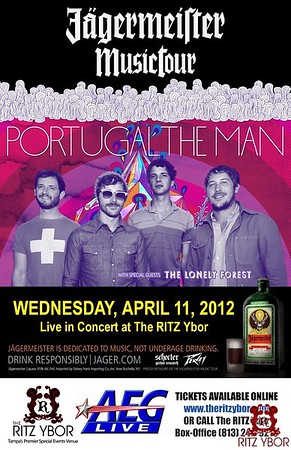 Jägermeister Music Tour Portugal. The Man April 11, 2012