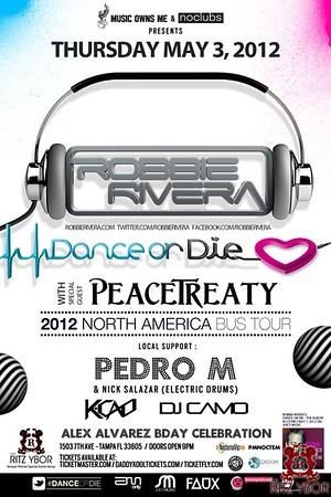 PeaceTreaty & Robbie Rivera May 3, 2012